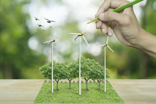 parc d'éoliennes